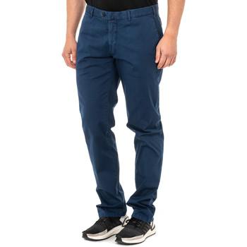 textil Hombre Pantalones chinos La Martina Pantalón corte chino Azul