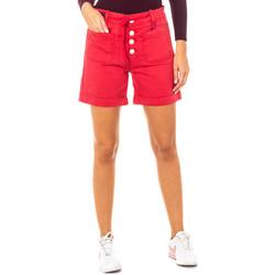 textil Mujer Shorts / Bermudas La Martina Short Rojo