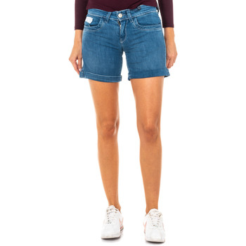 textil Mujer Shorts / Bermudas La Martina Short tejano Azul