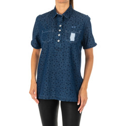 textil Mujer Camisas La Martina Camisa manga corta Azul
