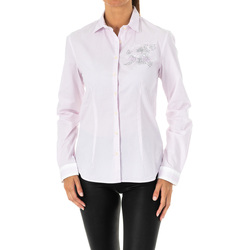 textil Mujer camisas La Martina Camisa manga larga Multicolor