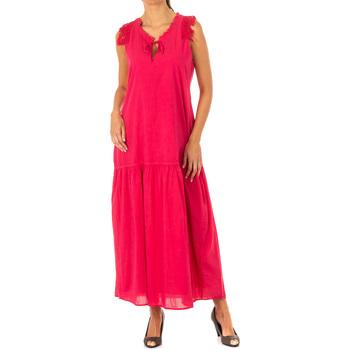 textil Mujer Vestidos largos La Martina Vestido Rosa