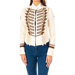 textil Mujer Chaquetas / Americana La Martina Chaqueta m/larga Crudo