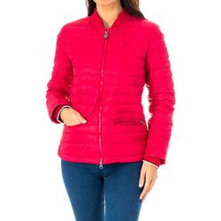 textil Mujer Plumas La Martina Chaqueta acolchada Rojo