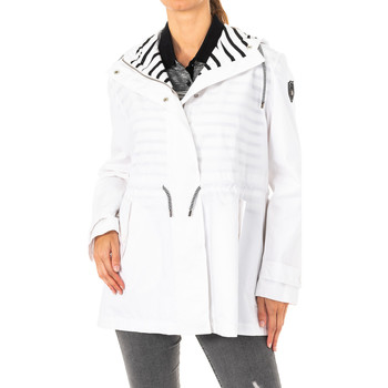 textil Mujer Abrigos La Martina Chaqueta m/larga Blanco