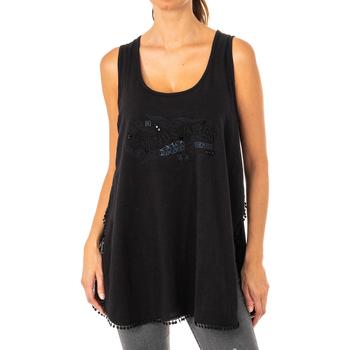 textil Mujer túnicas La Martina Camiseta de tirantes Negro