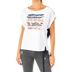 textil Mujer camisetas manga corta La Martina Camiseta Manga Corta Multicolor