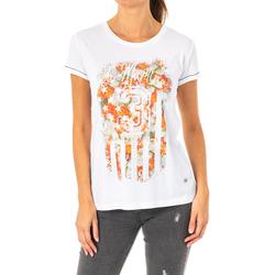 textil Mujer Camisetas manga corta La Martina Camiseta Manga Corta Blanco