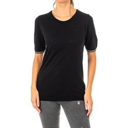 textil Mujer camisetas manga corta La Martina Camiseta Manga Corta Negro