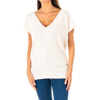 textil Mujer jerséis La Martina Jersey m/Corta Blanco