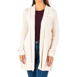 textil Mujer Chaquetas de punto La Martina Cardigans m/larga Crudo
