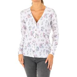 textil Mujer Chaquetas de punto La Martina Chaqueta de punto Blanco