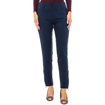 textil Mujer Pantalones La Martina Pantalón Ottoman Azul marino