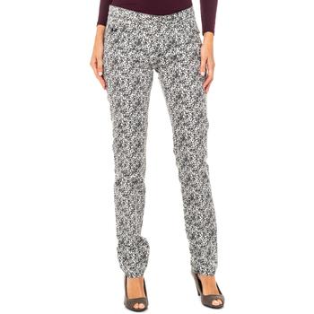 textil Mujer Pantalones La Martina Pantalón Negro-blanco