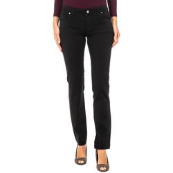 textil Mujer Pantalones La Martina Pantalón Stretch Negro