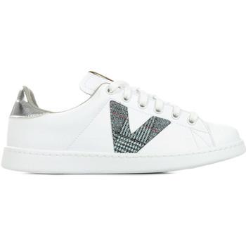 Zapatos Mujer Zapatillas bajas Victoria Tenis PU Blanco