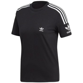textil Mujer camisetas manga corta adidas Originals Lock UP Tee