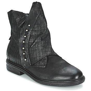 Zapatos Mujer Botas de caña baja Airstep / A.S.98 ETIENNE Negro