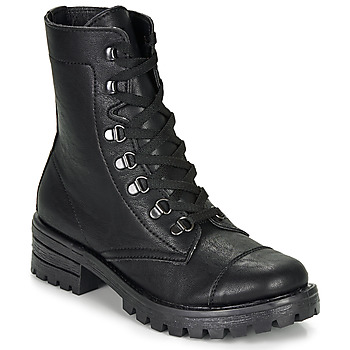 Zapatos Mujer Botas de caña baja André NIVA Negro