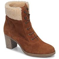 Zapatos Mujer Botines André BOHEME Camel