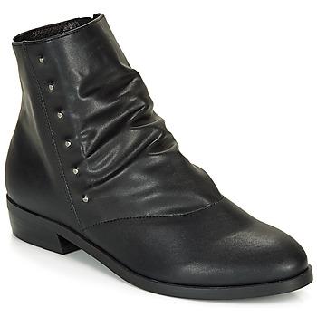 Zapatos Mujer Botas de caña baja André ELIPSE Negro