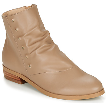 Zapatos Mujer Botas de caña baja André ELIPSE Camel