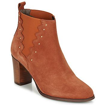 Zapatos Mujer Botines André NORINE Naranja