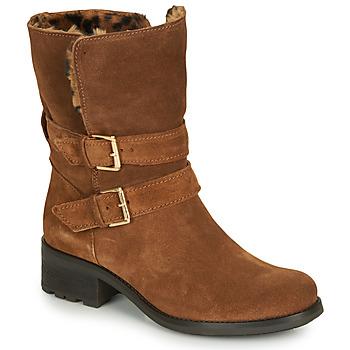 Zapatos Mujer Botas de caña baja André MAJOLIE Camel
