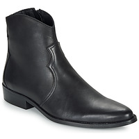 Zapatos Hombre Botas de caña baja André WESTERN Negro