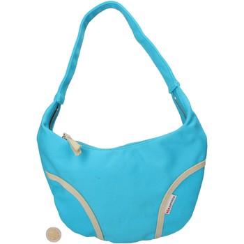 Bolsos Mujer Bolso shopping Superga azul lona AF679 azul
