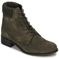 Zapatos Mujer Botas de caña baja André GODILLETTE Kaki