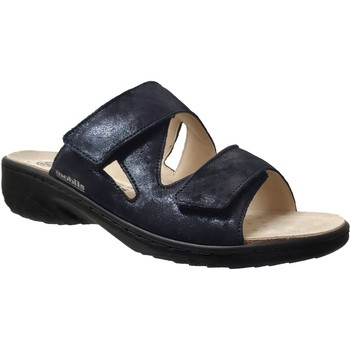 Zapatos Mujer Zuecos (Mules) Mobils By Mephisto Geva Cuero azul marino