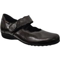 Zapatos Mujer Bailarinas-manoletinas Mobils By Mephisto Flora Marrón barnizado