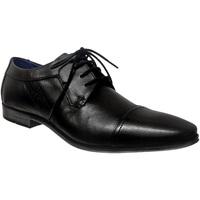 Zapatos Hombre Derbie Bugatti Morino 312-42015 Cuero negro