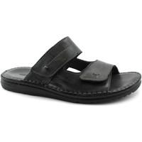 Zapatos Hombre Zuecos (Mules) Grunland GRU-RRR-CI1505-NE Nero
