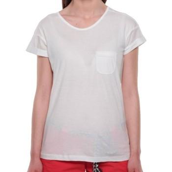 textil Mujer Camisetas manga corta Sun Valley  Blanco
