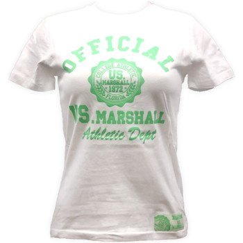 textil Mujer camisetas manga corta Sweet Company T-shirt US Marshall Blanc florida Blanco