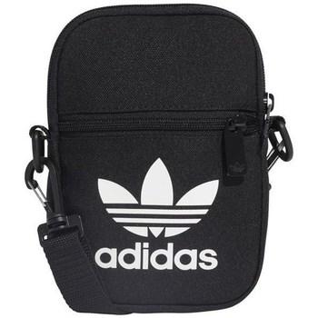 Bolsos Macuto adidas Originals Fest Bag Trefoil Negro