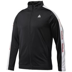 textil Hombre Sudaderas Reebok Sport Training Essentials Linear Logo Negros