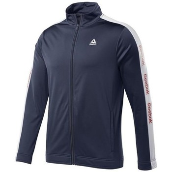textil Hombre Sudaderas Reebok Sport Training Essentials Linear Logo Track Azul marino