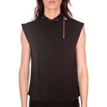 textil Mujer Tops / Blusas By La Vitrine Débardeur  noir Negro
