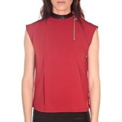 textil Mujer Tops / Blusas By La Vitrine Débardeur  Rouge Rojo
