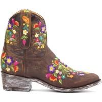Zapatos Mujer Botas de caña baja Mexicana Bottines  Sorazipper Marrón
