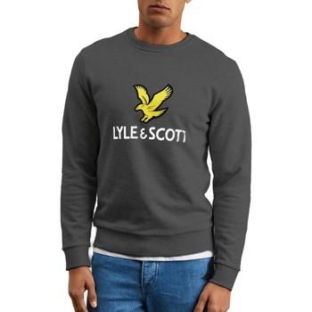 textil Hombre sudaderas Lyle & Scott | Sudadera con logo Gris | LYS_MLSML1022V 398 Gris