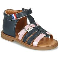 Zapatos Niña Sandalias GBB GUINGUETTE Marino / Rosa