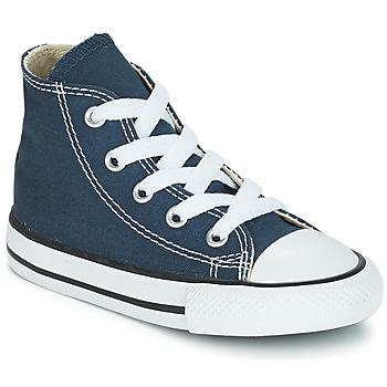 Zapatos Niños Zapatillas altas Converse CHUCK TAYLOR ALL STAR CORE HI Marino