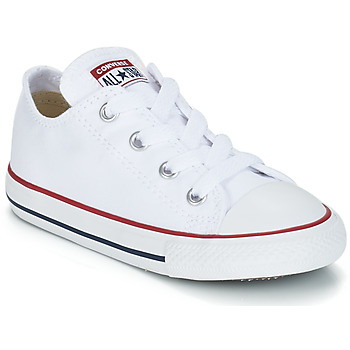 d59b4822dd Zapatos Niños Zapatillas bajas Converse CHUCK TAYLOR ALL STAR CORE OX  Blanco / Optical