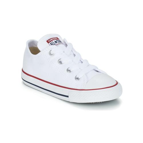 Zapatos Niños Zapatillas bajas Converse CHUCK TAYLOR ALL STAR CORE OX Blanco / Optical