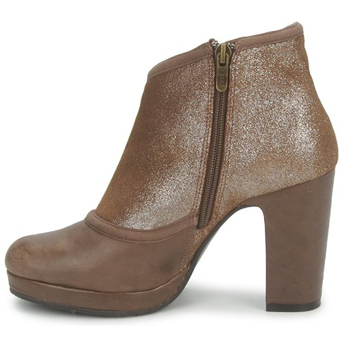 Esska Tilly Zapatos Low Mujer Boots MarrónBrillantina CQrdoeWBx