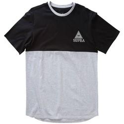 textil Hombre Camisetas manga corta Supra  Gris